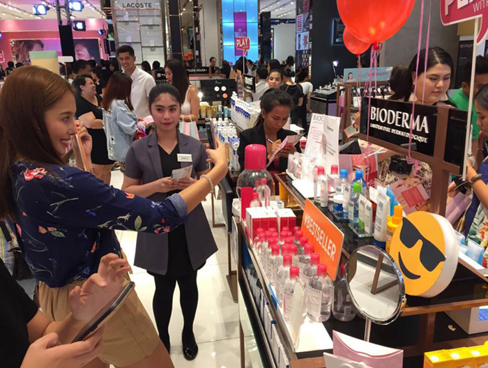 BIODERMA Bestsellers at the SM Beauty Playground