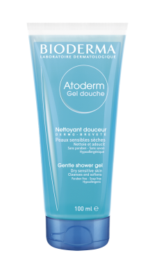 Atoderm Gel douche - Bioderma dry skin soap-free cleansing gel (face, body)