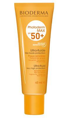 50 factor fluid sun cream - Very fair, sensitive skin (freckles) Bioderma